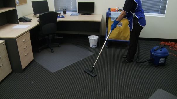 Service businesses that comply with ISO 9001 can have a competitive advantage. (from Colby Cleaning Services web site)