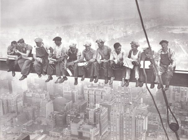 Lunch on a Skyscraper 1932 - Charles C Ebbets